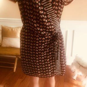 NWOT Scorch & Soda wrap dress